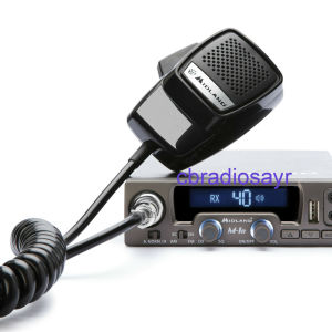 MIDLAND 40 CHANNEL MOBILE CITIZENS BAND TRANSCEIVER