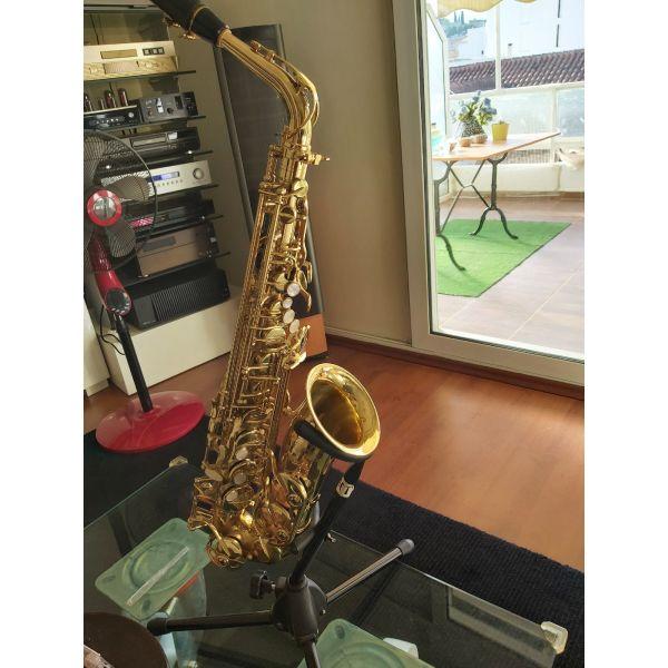 polite saxofono   Alto  Julius Keilwerth  apolita kenourgio komple 500 evro agorasmeno apo katastima