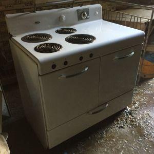 Frigidaire ηλεκτρική κουζίνα γκαζιού (1947) αντίκα retro vintage