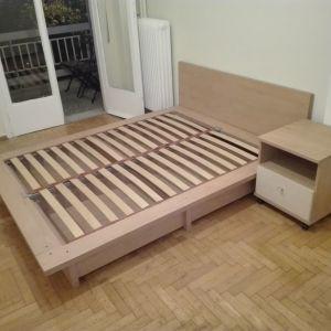 Διπλό Κρεβάτι 2.00x160 με συρτάρια για αποθηκευτικό χώρο