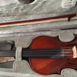 Βιολί μαθητικό με δοξάρι και γέφυρα μάρκα gewa