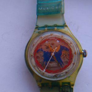 Swatch 007 Q No Time To Die limited edition,,,AYTOMATIK .SWATCH ELBETIKO  ROLOI ME MIXANISMO
