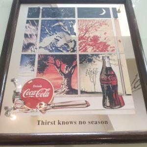 Γνήσιο συλλεκτικό διαφημιστικο της Coca Cola, USA, εποχής 1994-1995.