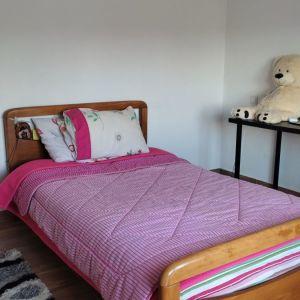 Κρεβάτι ημιδιπλο ξύλινο