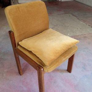 Καρεκλοπολυθρόνα ξύλινη αντίκα