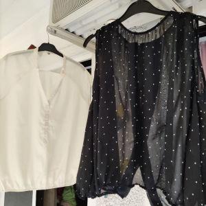 3 ευρώ για κάθε ένα και 5 ευρώ μαζί. πολύ κομψά χαριτωμένα πουκάμισα σε άριστη ποιότητα και κατάσταση.