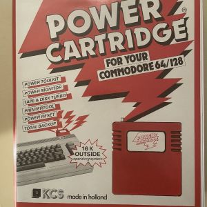 POWER CARTRIDGE KCS FOR COMMODORE 64/128