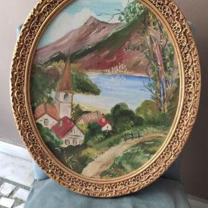 πίνακας ζωγραφικής σε κάδρο