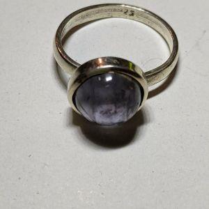 Δαχτυλιδι ασημενιο 9.25