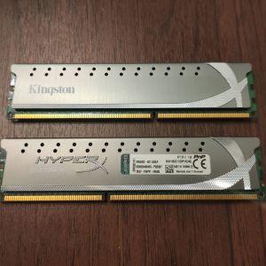 Μνήμη RAM DDR3 2x2gb 1866 Mhz Kingston HyperX Genesis