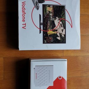Router Vodafone Και Αποκωδικοποιητης Vodafone TV