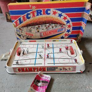 Πολύ παλιό παιχνίδι Electronic Chapmions Hockey 1960