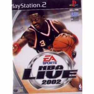 PS2 Game -NBA LIVE 2002