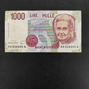 ΙΤΑΛΙΑ 1000 ΛΙΡΕ 1990