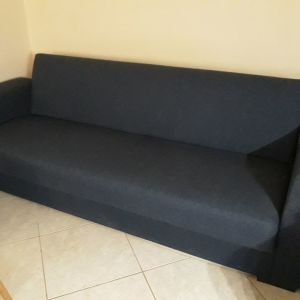 Τριθέσιος καναπές-κρεβάτι