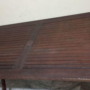 Τραπέζι Κήπου / Βεράντας + 3 Καρέκλες (ΔΙΑΒΑΣΤΕ ΠΕΡΙΓΡΑΦΗ!)