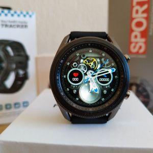 Smartwatch F5 με δυνατότητα κλήσεων μέσω Bluetooth και περιστρεφόμενο στεφάνι