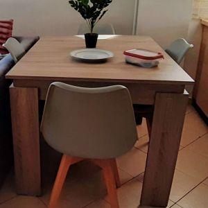 Τραπέζι κουζίνας φυσικό ξύλο