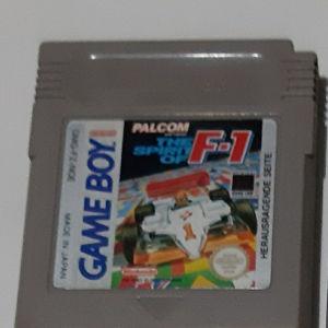 The Spirit of F1 Formula1 Gameboy