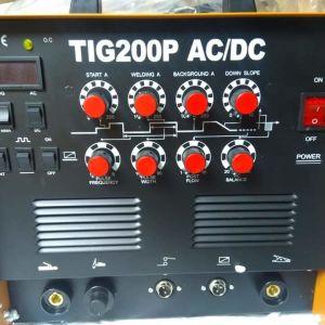 ΗΛΕΚΤΡΟΚΟΛΛΗΣΗ TIG200P αλουμινίου