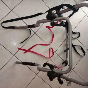 Πωλείται βάση για δύο ποδήλατα κατάλληλη για ΙΧ SUV με εξωτερική ρεζέρβα