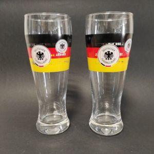 """Συλλεκτικά ποτήρια μπύρας """"Deutscher Fussball - Bund"""""""