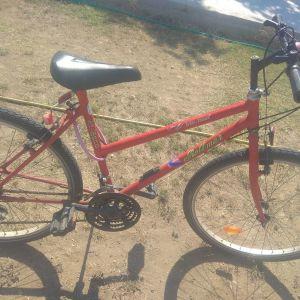 ποδήλατο mountain κόκκινο με ταχύτητες