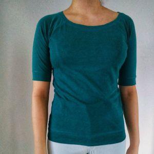 Πρασινη μπλουζα κοντομανικη