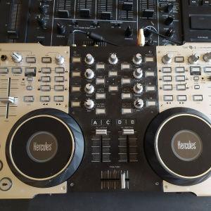 Εξοπλισμος DJ σε πολυ κατασταση
