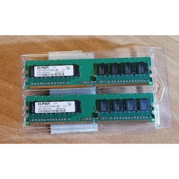 mnimi Ram DDR2 ELPIDA 1GB