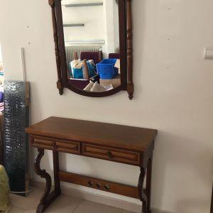 πωλείται έπιπλο εισόδου και καθρέπτης