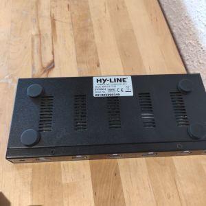 ΠΩΛΟΎΝΤΑΙ HDMI SPLITTER 1/8 HY-LINE.  CLUX - 8M