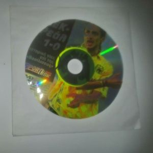 DVD ΑΕΚ ΣΤΗΝ ΕΥΡΩΠΗ 1986 ΑΕΚ-ΡΕΑΛ ΜΑΔΡΙΤΗΣ 1-0
