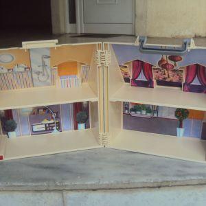 PLAYMOBIL Dollhouse Μοντέρνο Κουκλόσπιτο Βαλιτσάκι.