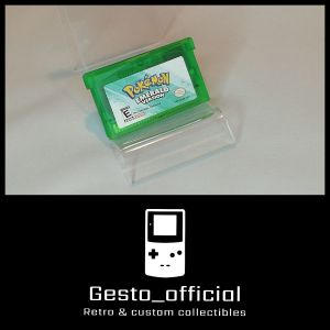 Pokemon Emerald Version Game Boy Advance Cartridge Gesto_official