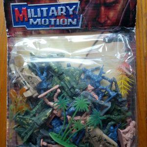 πλαστικά στρατιωτάκια.