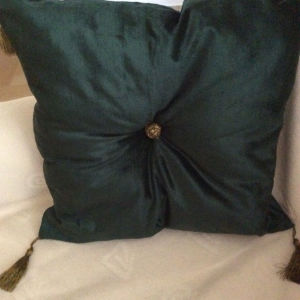 βελούδινο μαξιλάρι