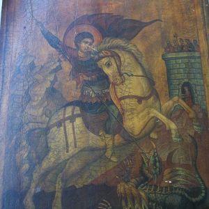παλαια εικονα Αγιος Γεωργιος