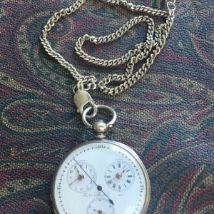 Ασημένιο Ρολόι Τσέπης του 1860