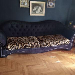 3θεσιος κλασικός καναπές