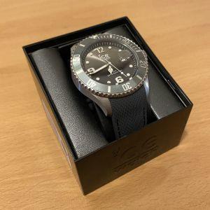 Ice-Watch ρολόι χειρός silicone (γκρί)