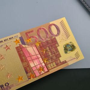 Αναμνηστικό των 500 ευρώ επίχρυσο
