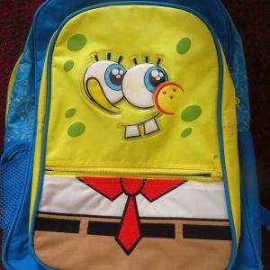 Παιδική Σχολική Τσάντα Μπομπ Σφουγγαράκης / Children's School Bag SpongeBob SquarePants