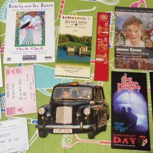 Αναμνηστικά από Αγγλία 1995 - 1997