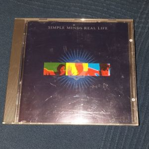 CD SIMPLE MINDS - REAL LIFE 1991