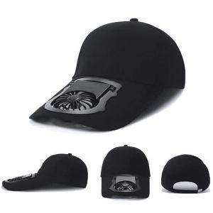 """Αθλητικό καπέλο τύπου """"jockey"""" με ανεμιστηράκι το απόλυτο gadget για το καλοκαίρι"""