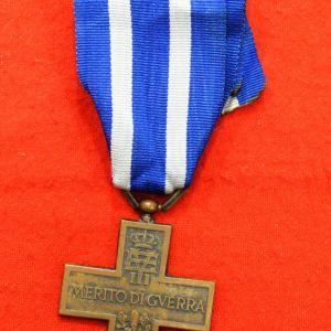 Ιταλικό μετάλλιο ΄΄Στρατιωτικής Ανδρείας΄΄ του Β΄ΠΠ.