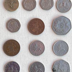 Παλιά ΑΓΓΛΙΚΑ Νομίσματα