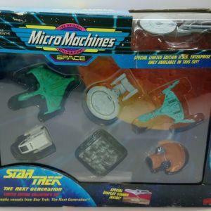 1994 GALOOB MICRO MACHINES SPACE STAR TREK THE NEXT GENERATION BRAND NEW