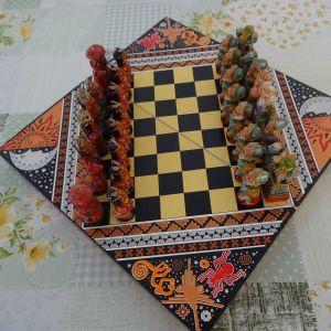 Σκακι Incas vs Conquistadores